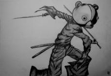 """Jinnosuke/""""Kuma"""" (Afro Samurai)"""