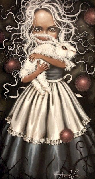 Alice in Wonderland by Angelina Wrona