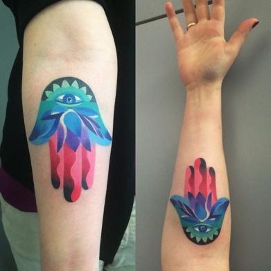 Hamsa-Arm-Tattoo